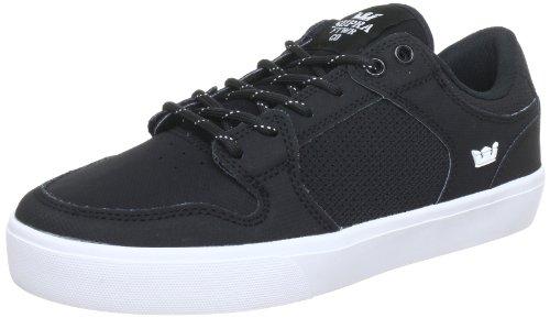 Supra Men's Vaider LC Low Sneaker 10 Black/White