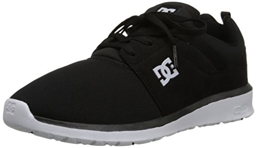 DC Heathrow Skate Shoe, Black/White, 8.5 M US