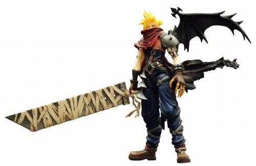 kingdom hearts play arts vol 2 action figure cloud strife coliseum ver - Kingdom Hearts Play Arts Vol. 2 Action Figure - Cloud Strife Coliseum Ver.
