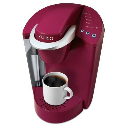 Keurig K45 Elite Single Cup Home Brewing System (Rhubarb Red)