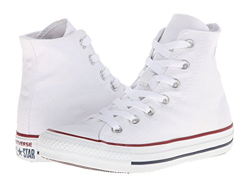 Converse Unisex Chuck Taylor All Star Ox Basketball Shoe (7 B(M) US Women / 5 D(M) US Men, Optical/White)