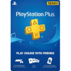 PSN PLUS 12 MONTH CARD (SONY) NEW SKU SONY