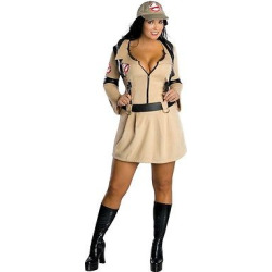 womens ghostbusters costume 16w18w multi colored - Women's Ghostbusters Costume 16W/18W, Multi-Colored