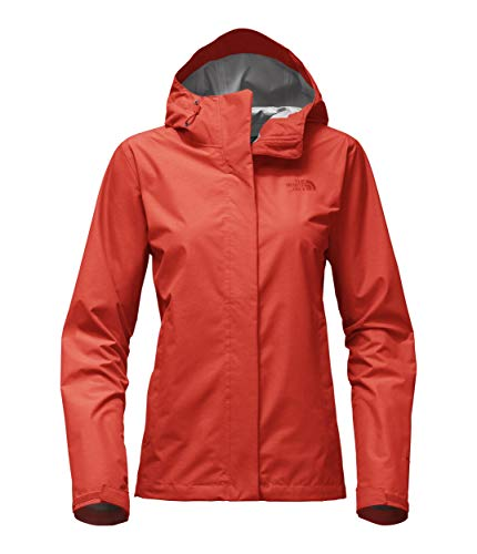The North Face Women's Venture 2 Jacket – Fire Brick Red Heather – XL (Past Season)