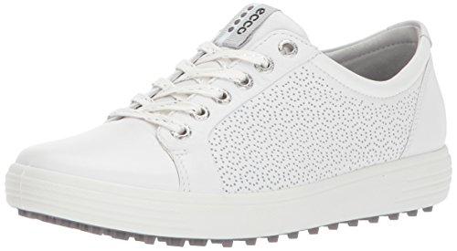 ECCO Women's Casual Hybrid 2 Golf Shoe, White, 38 EU/7-7.5 M US