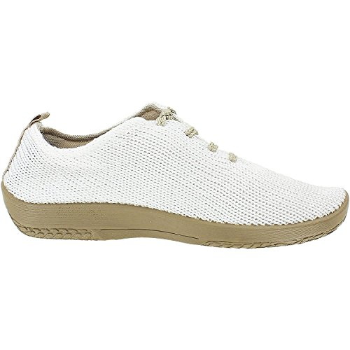 Arcopedico Women's LS White Oxford