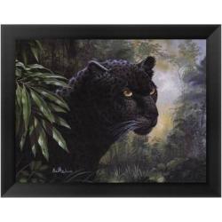 Black Panther Framed Art Print by Don Balke