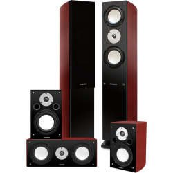 Fluance High Performance 5 Speaker Surround Sound Home Theater System