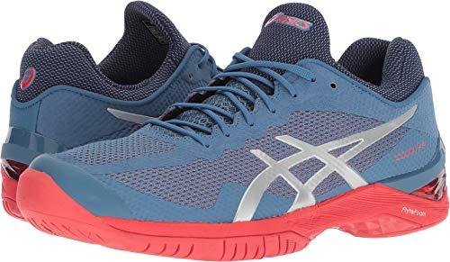 ASICS Gel Court FF Mens Tennis Shoe (Azure/Silver) (9.5)