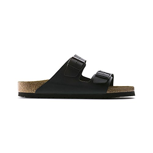 Birkenstock Arizona Women's Black Birko-Flor Sandal 39 / Women's US Size 8-8.5