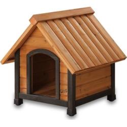 Pet Squeak Arf Frame Dog House – Extra Small, Brown