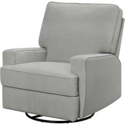 baby relax rylan swivel gliding recliner gray - Baby Relax Rylan Swivel Gliding Recliner - Gray