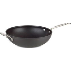 Cuisinart Chef's Classic Nonstick Hard-Anodized Stainless Steel 12.5-in. Stir Fry Pan, Grey