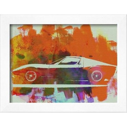 Art.com – Lamborghini Miura Side 2, Orange