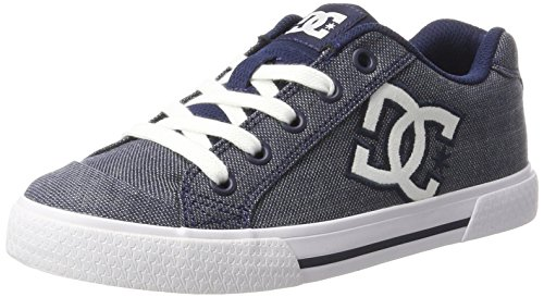 DC Shoes Chelsea Tx Se, Women's Low-Top Sneakers, Grey (Chambray), 3 UK (36 EU)