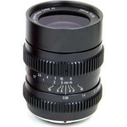 SLR Magic 25mm T0.95 HyperPrime Cine III Lens (MFT Mount) SLR-2595MFT(3)