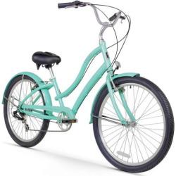 womens firmstrong ca 520 mint 26 inch seven speed beach cruiser bike green - Women's Firmstrong CA-520 Mint 26-Inch Seven Speed Beach Cruiser Bike, Green