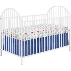 prism metal crib white standard full sized crib - Prism Metal Crib, White, Standard Full-Sized Crib