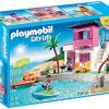 playmobil luxury beach house 100x100 - 7.5ft Pre-Lit Artificial Christmas Tree Rockford Pine - Clear Lights, Multi-Colored