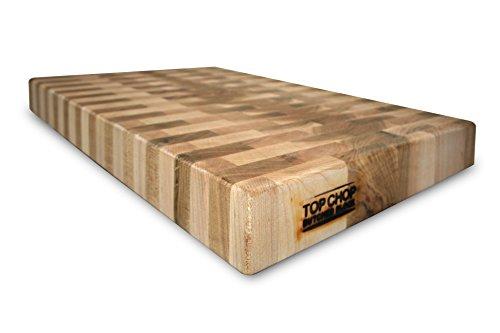 top chop butcher block pgm 20182 reversible cutting board 20 x 18 x 2 inch - Top Chop Butcher Block PGM-20182 Reversible Cutting Board, 20 x 18 x 2 Inch (Maple)