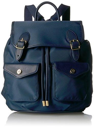 Tommy Hilfiger Handbags Women's Backpack Mabel SmoothNylon, Navy