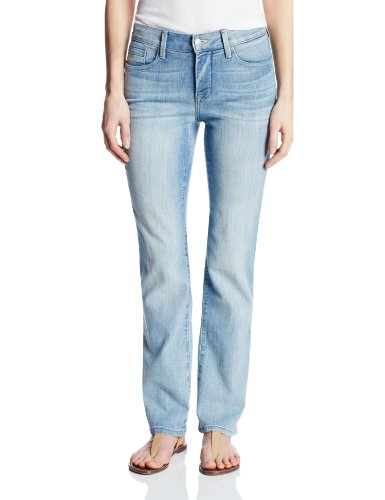 NYDJ Petite Marilyn Straight Jeans In Premium Lightweight Denim, Manhattan Beach, 12P