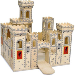 melissa and doug folding medieval castle multicolor - Melissa and Doug Folding Medieval Castle, Multicolor
