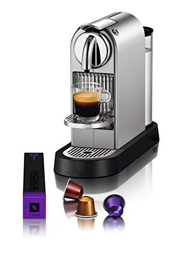 nespresso citiz c111 espresso maker with aeroccino plus milk frother chrome - Nespresso Citiz C111 Espresso Maker with Aeroccino Plus Milk Frother, Chrome