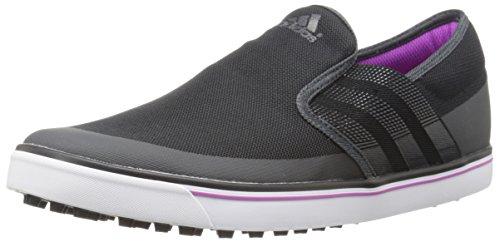 adidas Women's W Adicross SL-W, Core Black/Dark Shale/Flash Pink, 7 M US