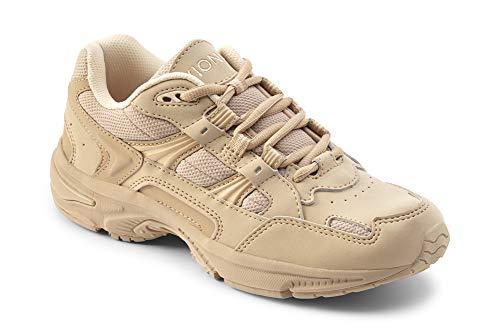 Vionic Women's Walker Classic Shoes, 8 B(M) US, Taupe