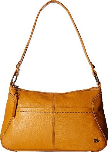 The Sak Iris Hobo Shoulder Bag (Small, Amber)