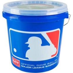 rawlings 12u bucket 24 baseballs set multicolor - Rawlings 12U Bucket & 24 Baseballs Set, Multicolor