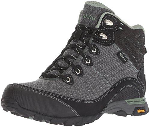Ahnu Women's W Sugarpine II Waterproof Hiking Boot, Black/Green Bay, 07.5 M US