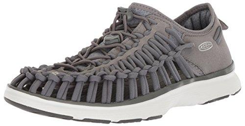 KEEN Women's Uneek O2-W Sandal, Steel Grey/Vapor, 8.5 M US