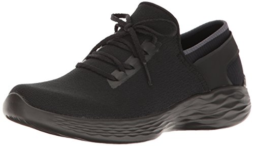 YOU by Skechers Women's YOU Inspire Slip-On Shoe,Black,7.5 M US