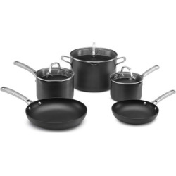 Calphalon Classic 8-pc. Hard-Anodized Nonstick Aluminum Cookware Set, Multicolor