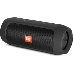 JBL Charge 2+ Portable Bluetooth Speaker – Black