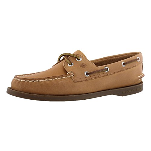 Sperry Top-Sider Women's Authentic Original 2-Eye Boat Shoe,Sahara ,7.5 M US