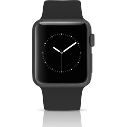 Apple Watch Series 3 Sport 42MM GPS Aluminum Space Gray Case – Black (Refurbished)
