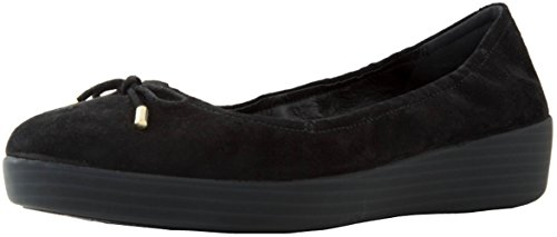 FitFlop Womens Superbendy Ballerinas Loafer Flat, Midnight Navy, 7.5 M US