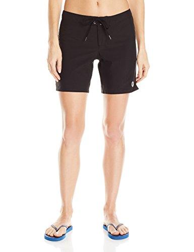 Roxy Women's to Dye 7 Inch Boardshort, True Black, XS