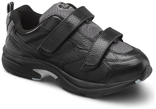 Dr. Comfort Spirit-X Women's Therapeutic Diabetic Extra Depth Shoe: Black 10 X-Wide (XW/4E) Velcro