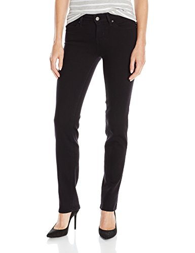 Levi's Women's 712 Slim Jeans, Soft Black, 28 (US 6) S