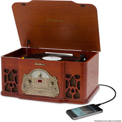 Electrohome Wellington Turntable Stereo System