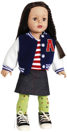 Madame Alexander Varsity Girl 18″ Doll, Favorite Friends Collection