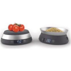 Joseph Joseph Switch Scale 2-in-1 digital scale with reversible lid., Gray