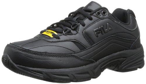 Fila Women's Memory Workshift Training Shoe,Black/Black/Black,8 W US