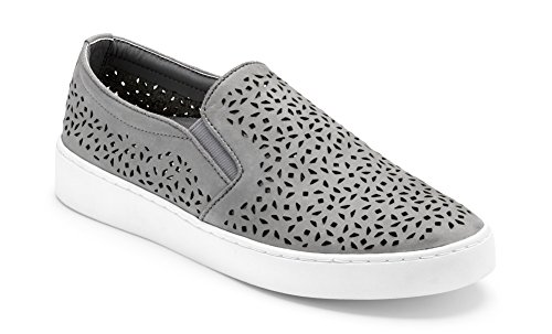 Vionic Women's Splendid Midi Perf Slip-on Grey 7.5 M US