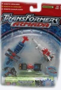 Transformers Armada Astroscope, Payload, and Sky Blast Figure Set