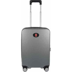 Illinois Fighting Illini 22-Inch Hardside Wheeled Carry-On with Charging Port, Grey